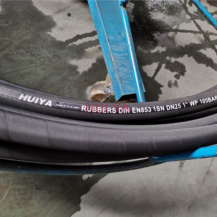 EN 853 1SN hydraulic rubber hose