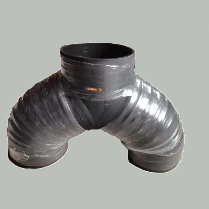 HP RUBBER EXHAUST HOSE